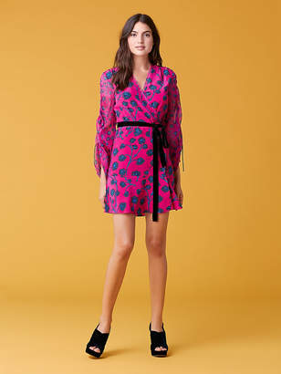 Diane von Furstenberg Tamra Shocking Pink Dress