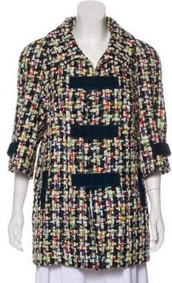 Chanel 2017 Tweed Coat