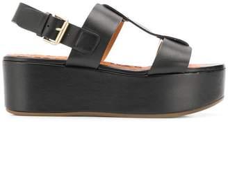 Chie Mihara flatform sandals