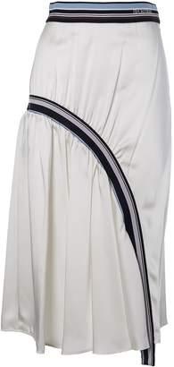 Sportmax Gathered Stripe Skirt