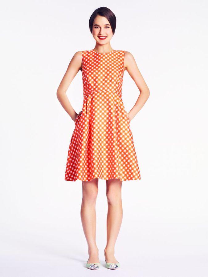 Kate Spade Gingham tallulah dress