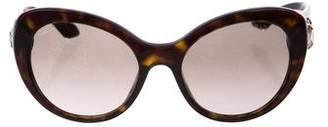 Prada Crystal Cat-Eye Sunglasses