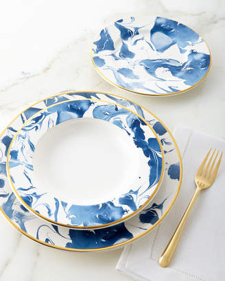 at Horchow · 12-Piece Blue Marble Dinnerware Service & Marbled Dinnerware - ShopStyle