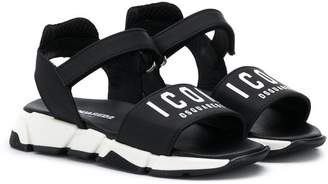 DSQUARED2 chunky velcro sandals