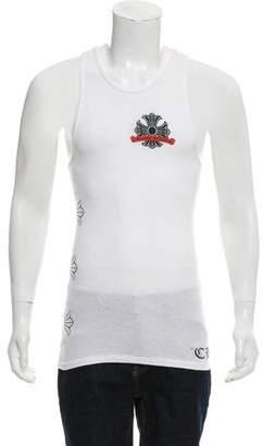 Chrome Hearts Logo Printed Tank-Top