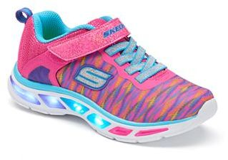 Skechers S Lights Litebeams Colorburst Girls' Light-Up Sneakers $49.99 thestylecure.com