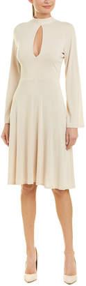 Susana Monaco Keyhole A-Line Dress