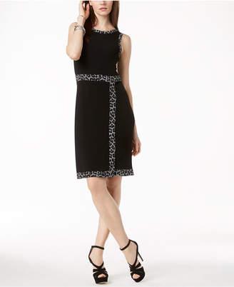 Michael Kors Faux-Wrap Dress in Regular & Petite Sizes