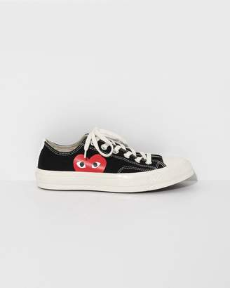 Comme des Garcons Black Play Converse Chuck Taylor Low