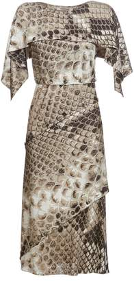 48789d17ddec Roberto Cavalli Python Print Dress