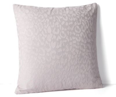 "Diane von Furstenberg Spotted Cat Embroidery Decorative Pillow, 18"" x 18"""