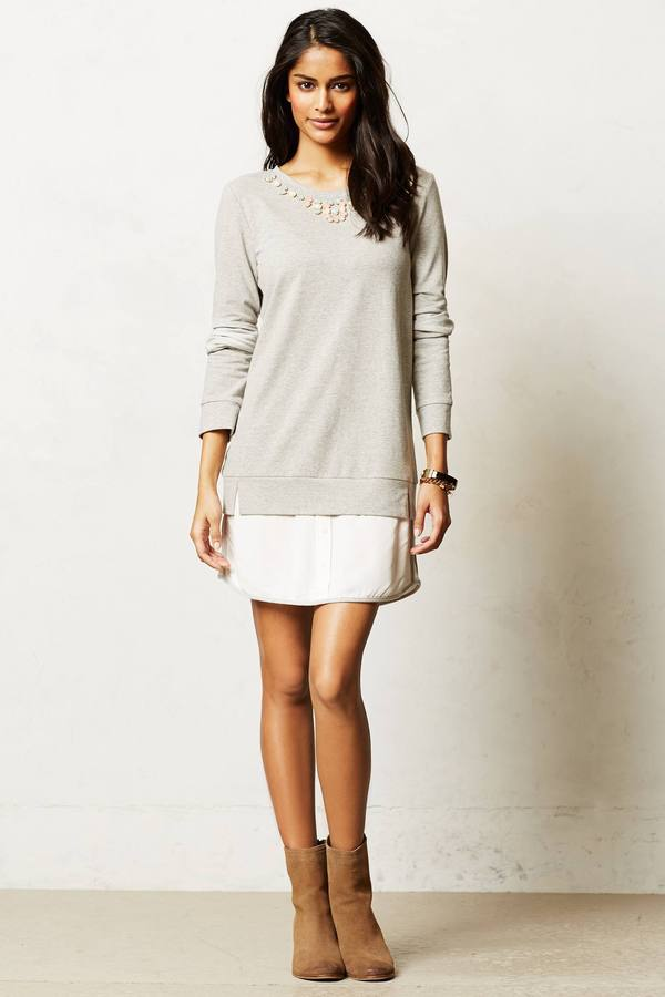 Anthropologie Fara Layered Tunic