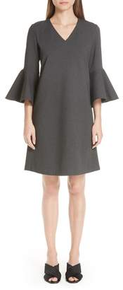 Lafayette 148 New York Holly Bell Sleeve Shift Dress