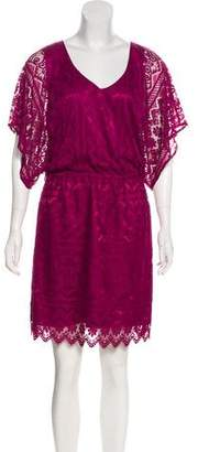 Laundry by Shelli Segal Knee-Length Lace Dress