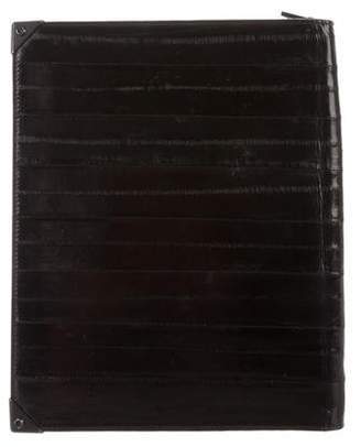 Alexander Wang Eel Skin Tablet Case