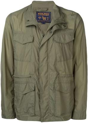 Woolrich lightweight patch pocket jacket