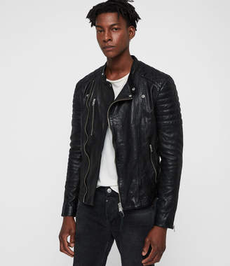 AllSaints Sarls Leather Biker Jacket