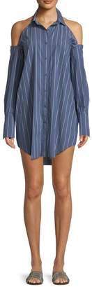 KENDALL + KYLIE Striped Tunic Mini-Dress