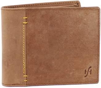 1e28033808c4 Hunter STARHIDE Men s Distressed Leather Wallet Credt Card