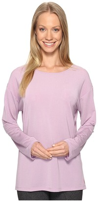 Lucy - Uncharted Long Sleeve Top Women's Long Sleeve Pullover $59 thestylecure.com