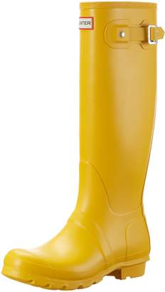 Hunter Boots Women's Original Tall Classic Rain Boot Dk Slate