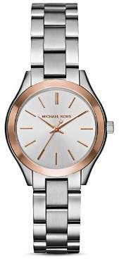 Michael Kors Two-Tone Mini Slim Runway Watch, 33mm