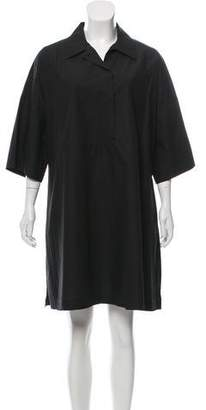 Hache Oversize Button-Down Dress w/ Tags