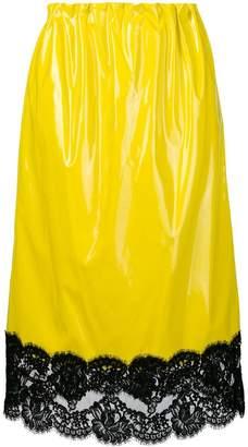 No.21 lace high-waist skirt