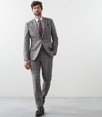 Reiss FOLIC MODERN FIT SUIT Grey