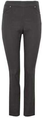 Wallis Dark Grey Side Zip Jegging