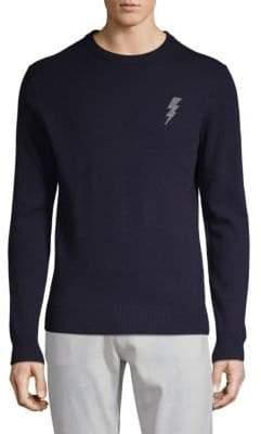 Saks Fifth Avenue Long-Sleeve Lightning Sweater