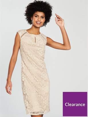 Wallis Floral Lace Shift Dress