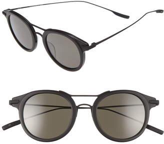 ab55ea36d05d2 Salt Taft 46mm Polarized Round Sunglasses