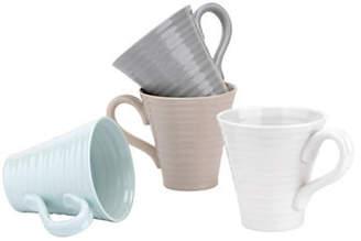 Sophie Conran FOR PORTMEIRION Set of Four Assorted Porcelain Mugs