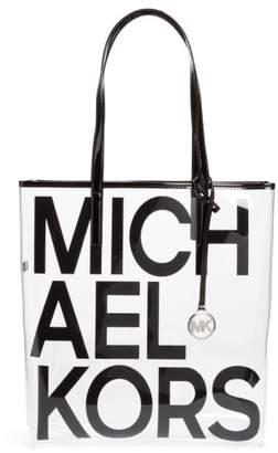 Michael Kors North/South Transparent Tote