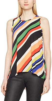 Dorothy Perkins Women's Stripe Built up Cami Blouse