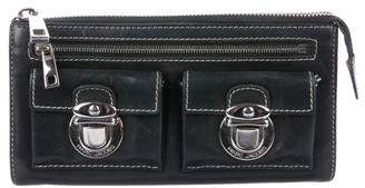 Marc Jacobs Smooth Leather Wallet