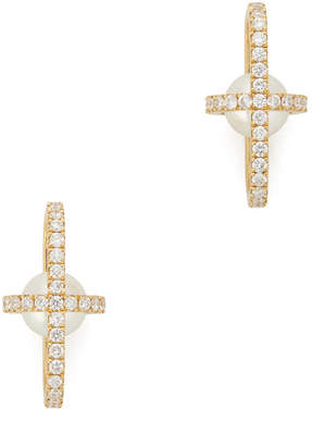 State Property Allegory Major Full Pave Stud Earrings