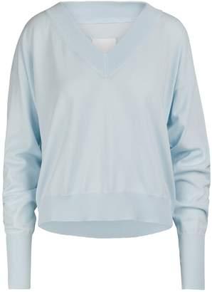 Maison Margiela Bare shoulder sweater