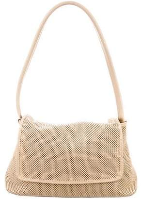 Gucci Perforated Leather Flap Bag