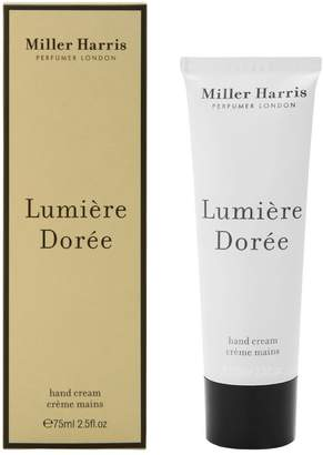 Miller Harris 75ml Lumiere Doree Hand Cream