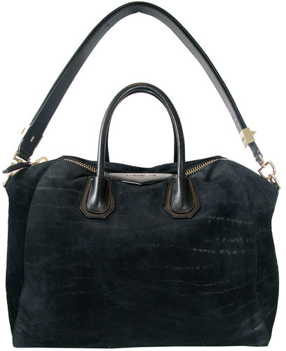 Givenchy Antigona Large Bag In Black