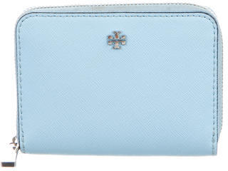 Tory Burch Tory Burch Leather Logo Wallet
