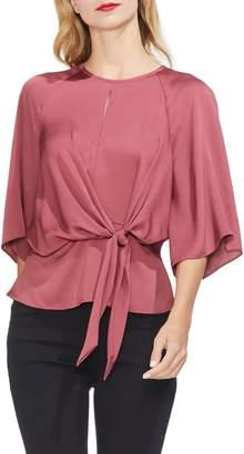 Vince Camuto Tie Front Blouse