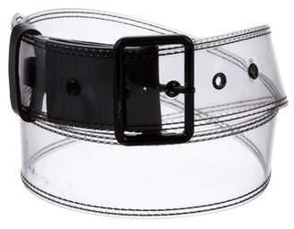 Dries Van Noten PVC Buckle Belt