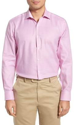 Tailorbyrd Anson Trim Fit Check Dress Shirt