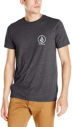 Volcom Men's Fade Stone T-Shirt, Heather Grey