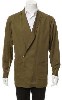 Miharayasuhiro Shawl-Lapel Lightweight Jacket