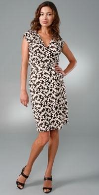 Diane von Furstenberg Riddle Wrap Dress
