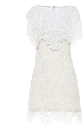 Maticevski Azalea lace minidress